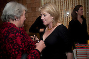 LYNN BARBER; HANNAH ROTHSCHILD, Launch of Nicky Haslam's book Redeeming Features. Aqua Nueva. 5th floor. 240 Regent St. London W1.  5 November 2009.  *** Local Caption *** -DO NOT ARCHIVE-© Copyright Photograph by Dafydd Jones. 248 Clapham Rd. London SW9 0PZ. Tel 0207 820 0771. www.dafjones.com.<br /> LYNN BARBER; HANNAH ROTHSCHILD, Launch of Nicky Haslam's book Redeeming Features. Aqua Nueva. 5th floor. 240 Regent St. London W1.  5 November 2009.