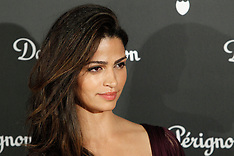 DEC 09 2014 Model Camila Alves attends Dom Perignon party in Madrid