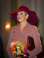 Arnhem , 12-01-2018<br /> <br /> Queen Maxima opens new Musis House for music <br /> <br /> <br /> <br /> Photo: Bernard R&uuml;bsamen Royalportraits Europe