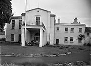 American Ambassador's Residence, Phoenix Park, Dublin.06/06/1957.