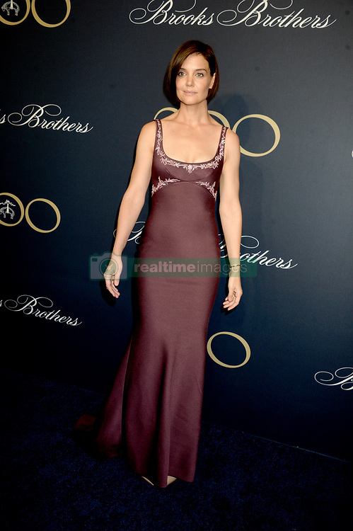 Katie Holmes attending Brooks Brothers Bicentennial Celebration At Jazz At Lincoln Center, New York City, NY, USA, on April 25, 2018. Photo by Dennis Van Tine/ABACAPRESS.COM