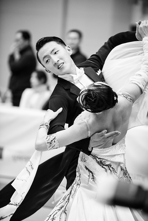 Silla 2015 Dance Sports Competition in Busan, South Korea.