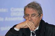 Roma 16 Gennaio 2013.Il Rettore dell' Università La Sapienza Luigi Frati.