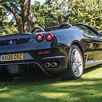 Ferrari F430 Spider (2008) at the Ferrari Club Annual Picnic at Wilton House on 23 August 2009