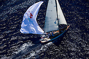 W Class Wild Horses racing in the St. Barth Bucket regatta.