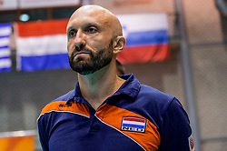 24-08-2017 NED: World Qualifications Netherlands - Czech Republic, Rotterdam<br /> Coach Jamie Morrison
