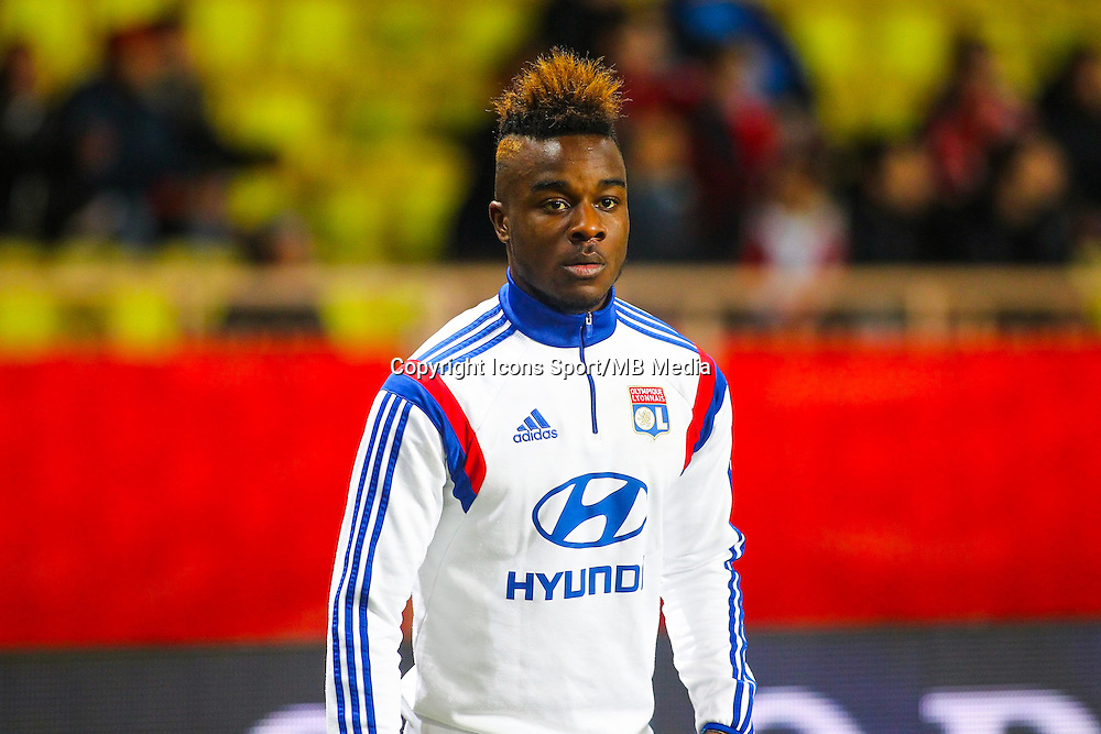 Maxwell Cornet - 01.02.2015 - Monaco / Lyon - 23eme journee de Ligue 1 -<br /> Photo : Serge Haouzi / Icon Sport