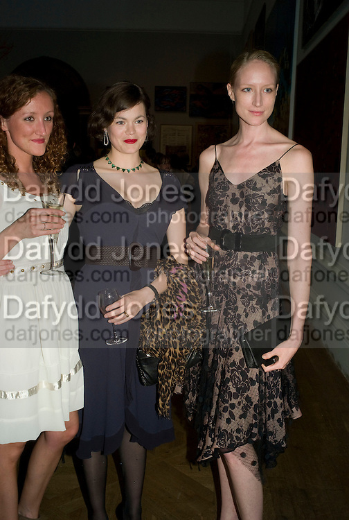 AMY PARFITT, JASMINE GUINNESS AND JADE PARFITT, 240th Royal Academy Summer Exhibition fundraising private view. Piccadilly. London.4 June 2008.  *** Local Caption *** -DO NOT ARCHIVE-© Copyright Photograph by Dafydd Jones. 248 Clapham Rd. London SW9 0PZ. Tel 0207 820 0771. www.dafjones.com.