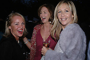 Amanda Elliasch, Trinny Woodall and  Tania Bryer. Cartier dinner after thecharity preview of the Chelsea Flower show. Chelsea Physic Garden. 23 May 2005. ONE TIME USE ONLY - DO NOT ARCHIVE  © Copyright Photograph by Dafydd Jones 66 Stockwell Park Rd. London SW9 0DA Tel 020 7733 0108 www.dafjones.com