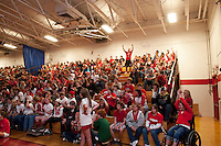Laconia High School Pep Rally for Homecoming September 30, 2011.