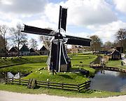 Windmill, Zuiderzee museum, Enkhuizen, Netherlands