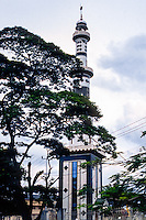 Riau Islands, Bintan. A mosque in Tanjung Pinang.