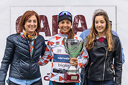 Carmen Small retains the mountains jersey going into stage 3 - Emakumeen Bira 2016 Stage 2 - A 109 km road stage from Extarri Arantz to Urkiola, Spain on 15th April 2016.