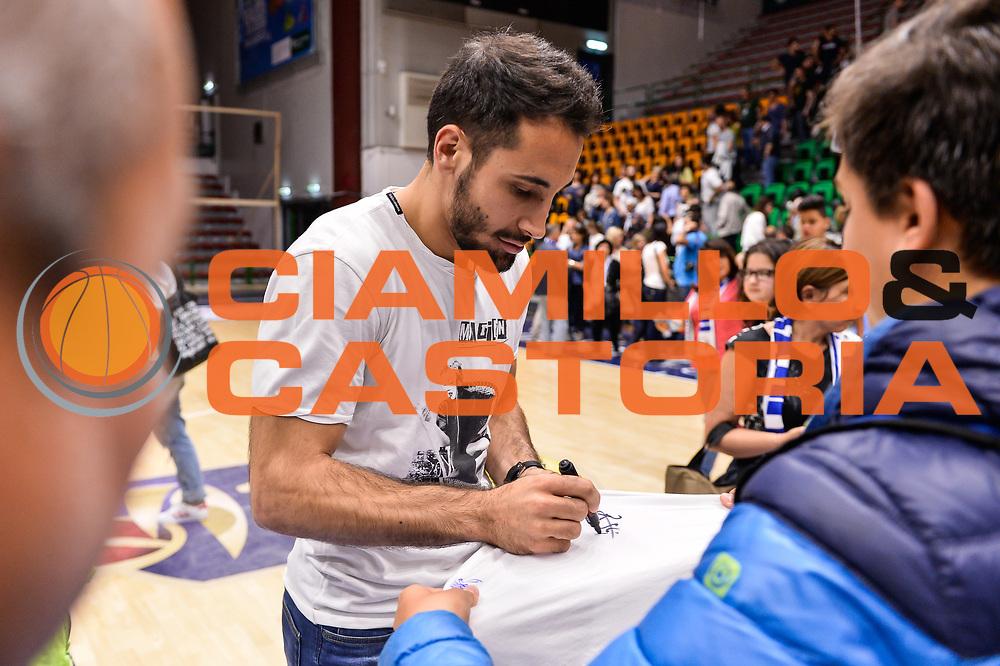 Rok Stipcevic<br /> Saluti Finali Banco di Sardegna Dinamo Sassari<br /> Legabasket Serie A LBA Poste Mobile 2016/2017<br /> Sassari 18/05/2017<br /> Foto Ciamillo-Castoria