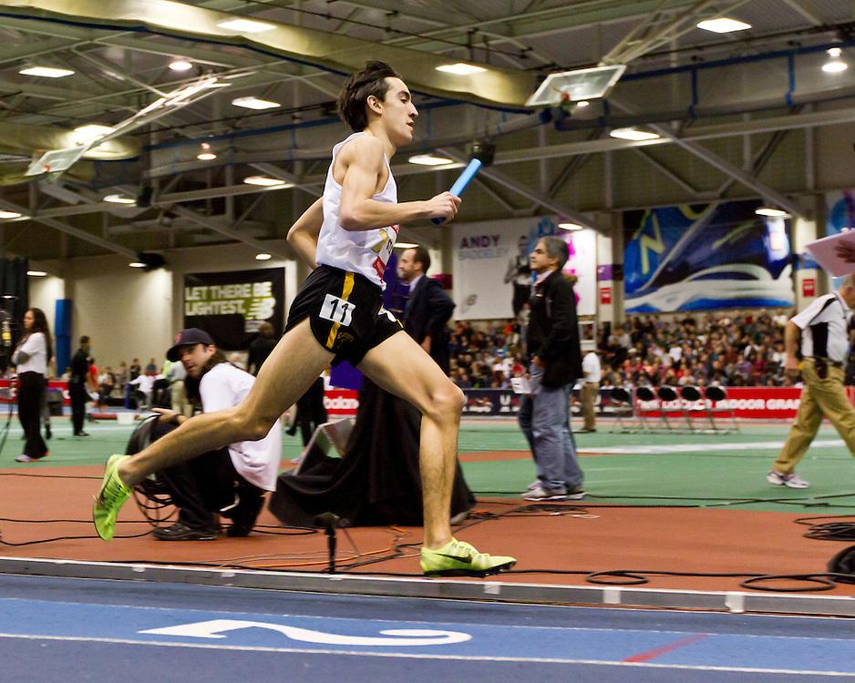 New Balance Indoor Grand Prix track meet: Boys 4x800 relay