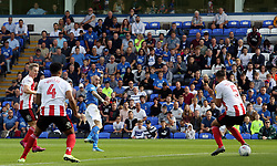 Marcus Maddison of Peterborough United scores his second and his sides third goal of the game against Sunderland - Mandatory by-line: Joe Dent/JMP - 31/08/2019 - FOOTBALL - Weston Homes Stadium - Peterborough, England - Peterborough United v Sunderland - Sky Bet League One