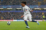 Lille forward Loïc Rémy (9) during the Champions League match between Chelsea and Lille OSC at Stamford Bridge, London, England on 10 December 2019.