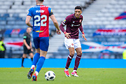 Sean Clare (#9) of Heart of Midlothian FC during the William Hill Scottish Cup semi-final match between Heart of Midlothian and Inverness CT at Hampden Park, Glasgow, United Kingdom on 13 April 2019.