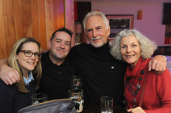 Pictured at the opening of Westport&rsquo;s Rolling Sun Book Festival festival over the weekend were Sarah Stock, James and Steve Bryant and Susie Sullivan<br /> Pic Conor McKeown