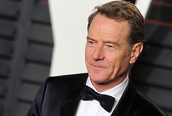 Bryan Cranston arrives at the 2016 Vanity Fair Oscar Party Hosted By Graydon Carter at Wallis Annenberg Center for the Performing Arts on February 28, 2016 in Beverly Hills, California. EXPA Pictures © 2016, PhotoCredit: EXPA/ Photoshot/ Dennis Van Tine<br />