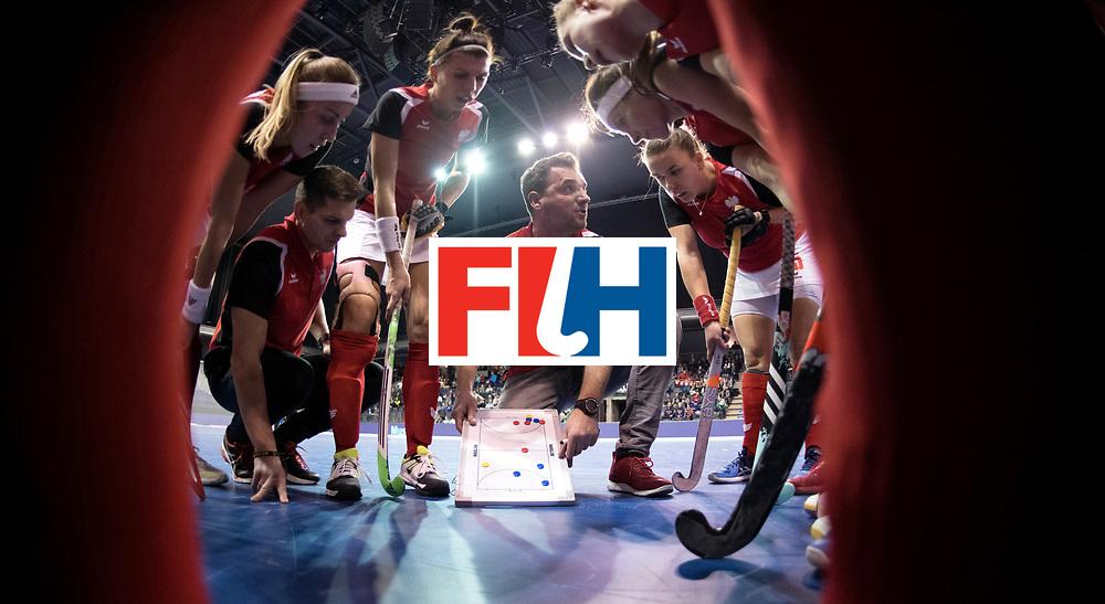 BERLIN - Indoor Hockey World Cup<br /> Women: Poland - USA<br /> foto: RACHWALSKI Krzysztof.<br /> WORLDSPORTPICS COPYRIGHT FRANK UIJLENBROEK