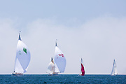 White Wings sailing in the Robert H. Tiedemann Classic Yachting Weekend race 1.