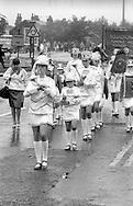 Squadronaires Jazz Band. 1991 Yorkshire Miners Gala. Doncaster.