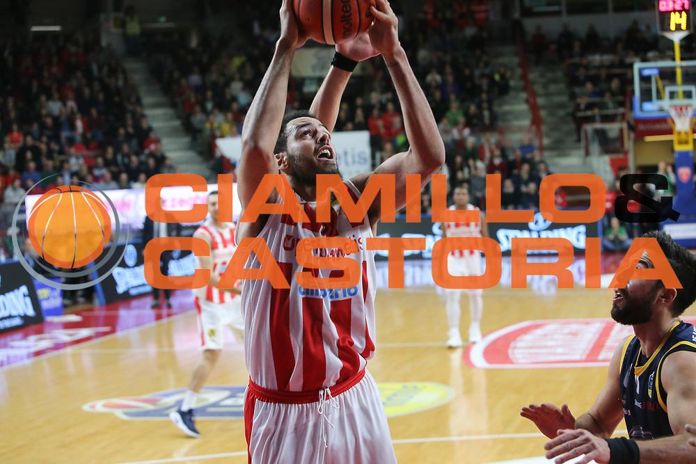 Cain Tyler<br /> Openjobmetis Varese - Fiat Torino<br /> Lega Basket Serie A 2017/2018<br /> Varese, 14/01/2018<br /> Foto Ciamillo - Castoria
