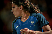 Amel Majri (France) during the International Friendly match between England Women and France Women at the Keepmoat Stadium, Doncaster, England on 21 October 2016. Photo by Mark P Doherty.