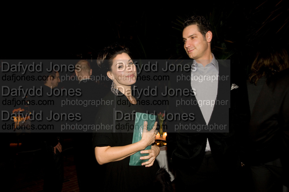 CAMERON SILVER; GINA GERSHON, Rodarte Poolside party to show their latest collection. Hosted by Kate and Laura Muleavy, Alex de Betak and Katherine Ross.  Chateau Marmont. West  Sunset  Boulevard. Los Angeles. 21 February 2009 *** Local Caption *** -DO NOT ARCHIVE -Copyright Photograph by Dafydd Jones. 248 Clapham Rd. London SW9 0PZ. Tel 0207 820 0771. www.dafjones.com<br /> CAMERON SILVER; GINA GERSHON, Rodarte Poolside party to show their latest collection. Hosted by Kate and Laura Muleavy, Alex de Betak and Katherine Ross.  Chateau Marmont. West  Sunset  Boulevard. Los Angeles. 21 February 2009