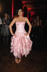 LILY ALLEN at the British Fashion Awards 2007 held at the Royal Horticultural Halls, Vincent Square, London on 28th November 2007.<br />