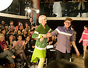 AGYNESS DEYN; HENRY HOLLAND, ' Colour Me Happy' House of Holland fashion show , Quaglinos. Bury St. London. 24 February 2009.