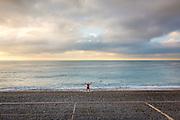 Séance de gymnastique sur la plage de Nice  // Gym session on  Nice beach