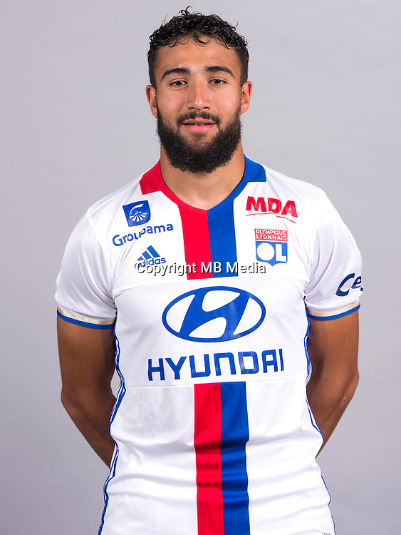 Nabil Fekir during the photocall of Lyon for new season of Ligue 1 on September 22nd 2016 in Lyon<br /> Photo : OL / Icon Sport