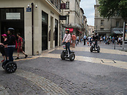 Tourists,  Avignon, 10 June 2018