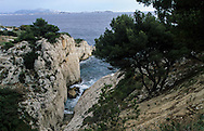 France. Marseille. L ESTAQUE. NIOLON CALANQUE  Marseille  France  / L ESTAQUE. CALANQUE DE NIOLON  Marseille  France  /     L0008329  /  R20711  /  P115713