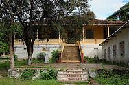 Building in Guaos, Cienfuegos Province, Cuba.
