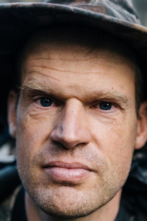 Ornithologist Martjan Lammertink on Jan. 31, 2016.