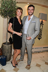DAVID PEACOCK and his wife GABRIELLA at an evening of Dinner & Dancing at Daphne's, 112 Draycott Avenue, London SW3 on 24th July 2013.