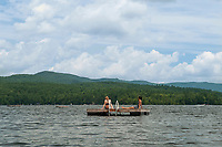 Squam Lake, New Hampshire.  Karen Bobotas Photographer