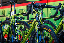 Cannondale of Cannondale-Drapac Pro Cycling Team before the start of the 115th Paris-Roubaix (1.UWT) from Compiègne to Roubaix (257 km) at Compiègne, France, 9 April 2017. Photo by Pim Nijland / PelotonPhotos.com | All photos usage must carry mandatory copyright credit (Peloton Photos | Pim Nijland)