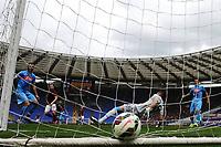 Gol Miralem Pjanic Roma. Goal celebration <br /> Roma 04-04-2015 Stadio Olimpico, Football Calcio Serie A AS Roma - Napoli Foto Andrea Staccioli / Insidefoto