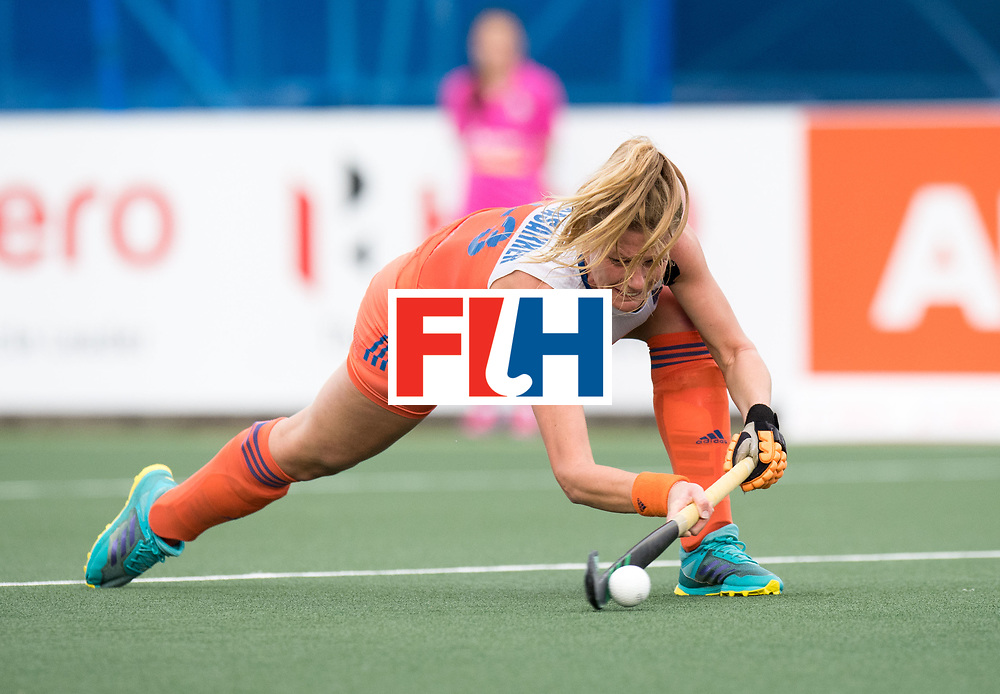 AUCKLAND - Sentinel Hockey World League final women<br /> Match id: 10299<br /> 09 NED v KOR (Pool A)<br /> Foto:  Caia VanMaasakker .<br /> WORLDSPORTPICS COPYRIGHT FRANK UIJLENBROEK