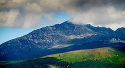 Storm clouds gather over Goatfell, Isle of Arran, Scotland<br /> <br /> (c) Andrew Wilson | Edinburgh Elite media