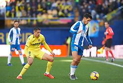 February 3, 2019 - Vila-Real, Castellon, Spain - Pablo Fornals of Villarreal and Rosales of RCD Espanyol during the La Liga match between Villarreal and Espanyol at Estadio de la Ceramica on February 3, 2019 in Vila-real, Spain. (Credit Image: © AFP7 via ZUMA Wire)