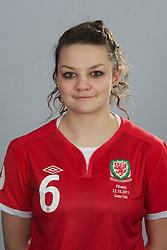 TREFOREST, WALES - Tuesday, February 14, 2011: Wales' Nia Jones. (Pic by David Rawcliffe/Propaganda)