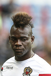 April 28, 2018 - Strasbourg, France - Mario Balotelli, Nice.during the French L1 football match between Strasbourg (RCSA) and Nice (OGC) on April 28, 2018 at the Meinau stadium in Strasbourg, eastern France. (Credit Image: © Elyxandro Cegarra/NurPhoto via ZUMA Press)