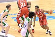 DESCRIZIONE : Milano Lega A 2014-15 EA7 Emporio Armani Milano vs Sidigas Avellino<br /> GIOCATORE : Joe Ragland<br /> CATEGORIA : Palleggio Blocco<br /> SQUADRA : EA7 Emporio Armani Milano<br /> EVENTO : Campionato Lega A 2014-2015<br /> GARA : EA7 Emporio Armani Milano Sidigas Avellino<br /> DATA : 16/02/2015<br /> SPORT : Pallacanestro <br /> AUTORE : Agenzia Ciamillo-Castoria/I.Mancini<br /> Galleria : Lega Basket A 2014-2015  <br /> Fotonotizia : Milano Lega A 2014-2015 EA7 Emporio Armani Milano Sidigas Avellino<br /> Predefinita :