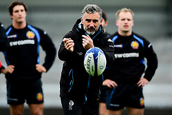 Ricky Pellow during a training session at Sandy Park prior to their trip to La Rochelle in the European Rugby Champions Cup.  - Ryan Hiscott/JMP - 13/11/2019 - SPORT - Sandy Park - Exeter, England - Exeter Chiefs Training Session