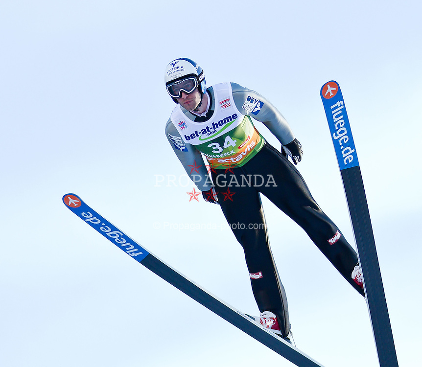 03.01.2012, Olympiaschanze/ Bergisel Stadion, AUT, 60. Vierschanzentournee, FIS Weltcup, Qualifikation, Ski Springen, im Bild Wolfgang Loitzl (AUT) // Wolfgang Loitzl of Austria during qualification at the 60th Four-Hills-Tournament of FIS World Cup Ski Jumping at Olympiaschanze / Bergisel Stadion, Austria on 2012/01/03. EXPA Pictures © 2012, PhotoCredit: EXPA/ P.Rinderer